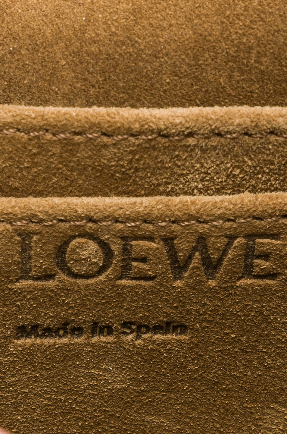 Image 6 of Loewe Gate Mini Bag in Varsity Blue & Indigo