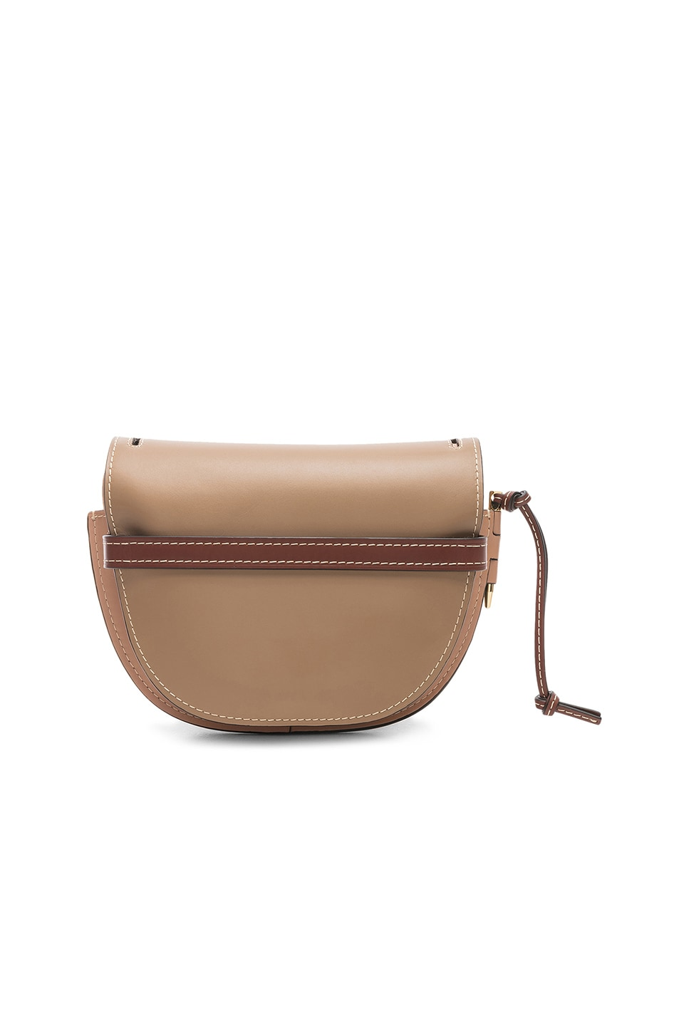 Image 2 of Loewe Gate Small Bag in Mocca & Powder