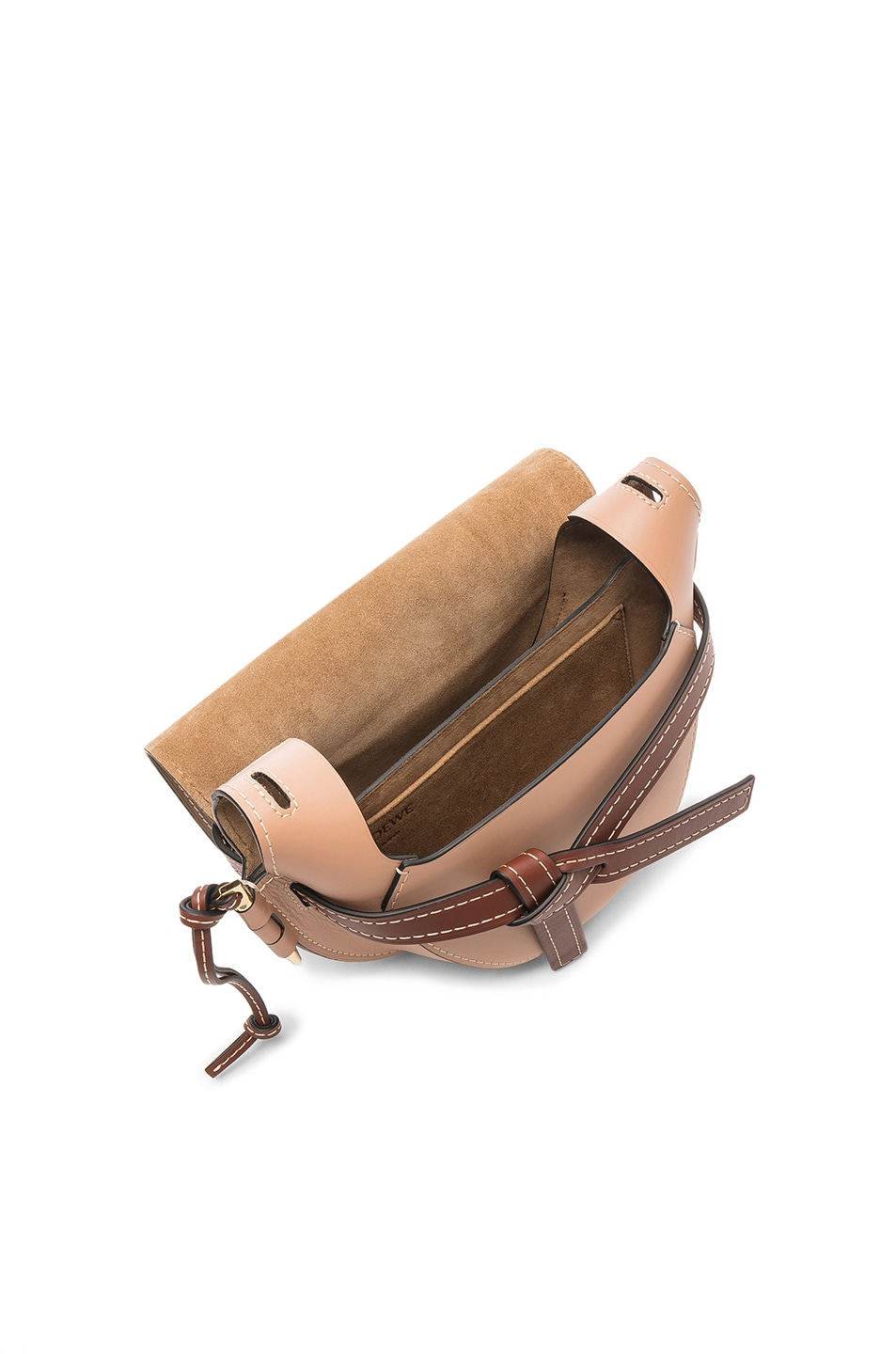 Image 4 of Loewe Gate Small Bag in Mocca & Powder