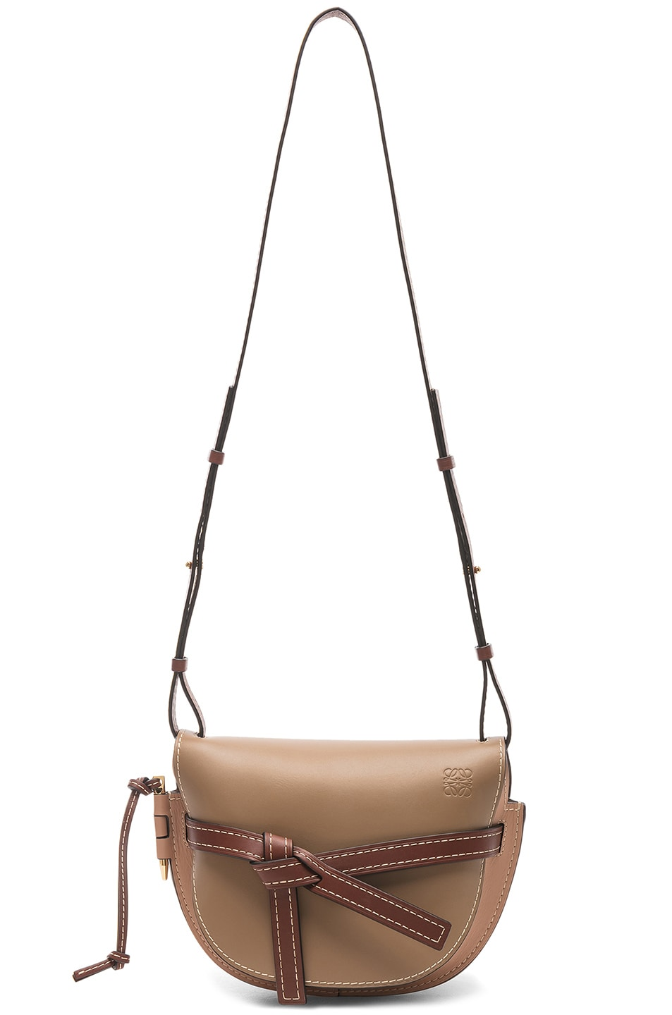 Image 5 of Loewe Gate Small Bag in Mocca & Powder