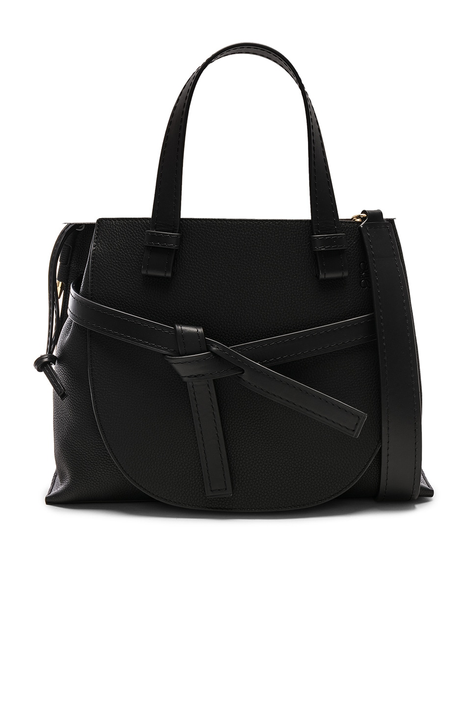 Image 1 of Loewe Gate Small Top Handle in Black