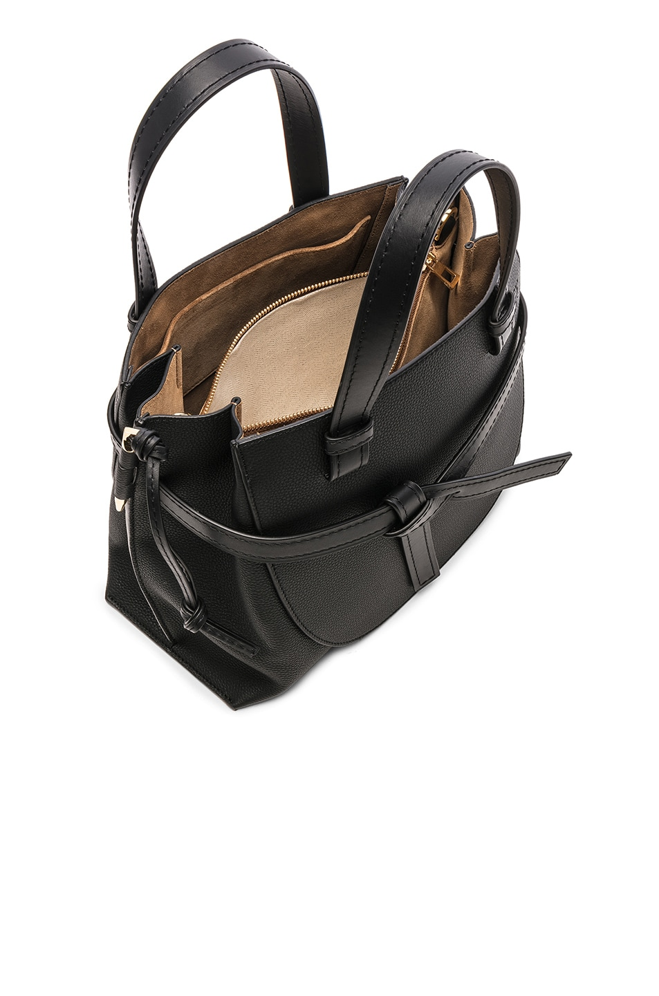 Image 5 of Loewe Gate Small Top Handle in Black