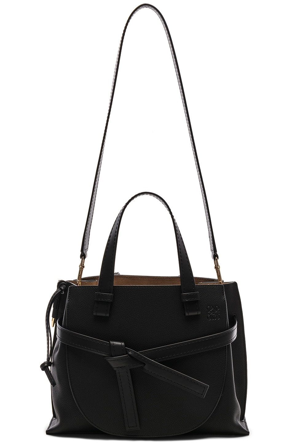 Image 6 of Loewe Gate Small Top Handle in Black