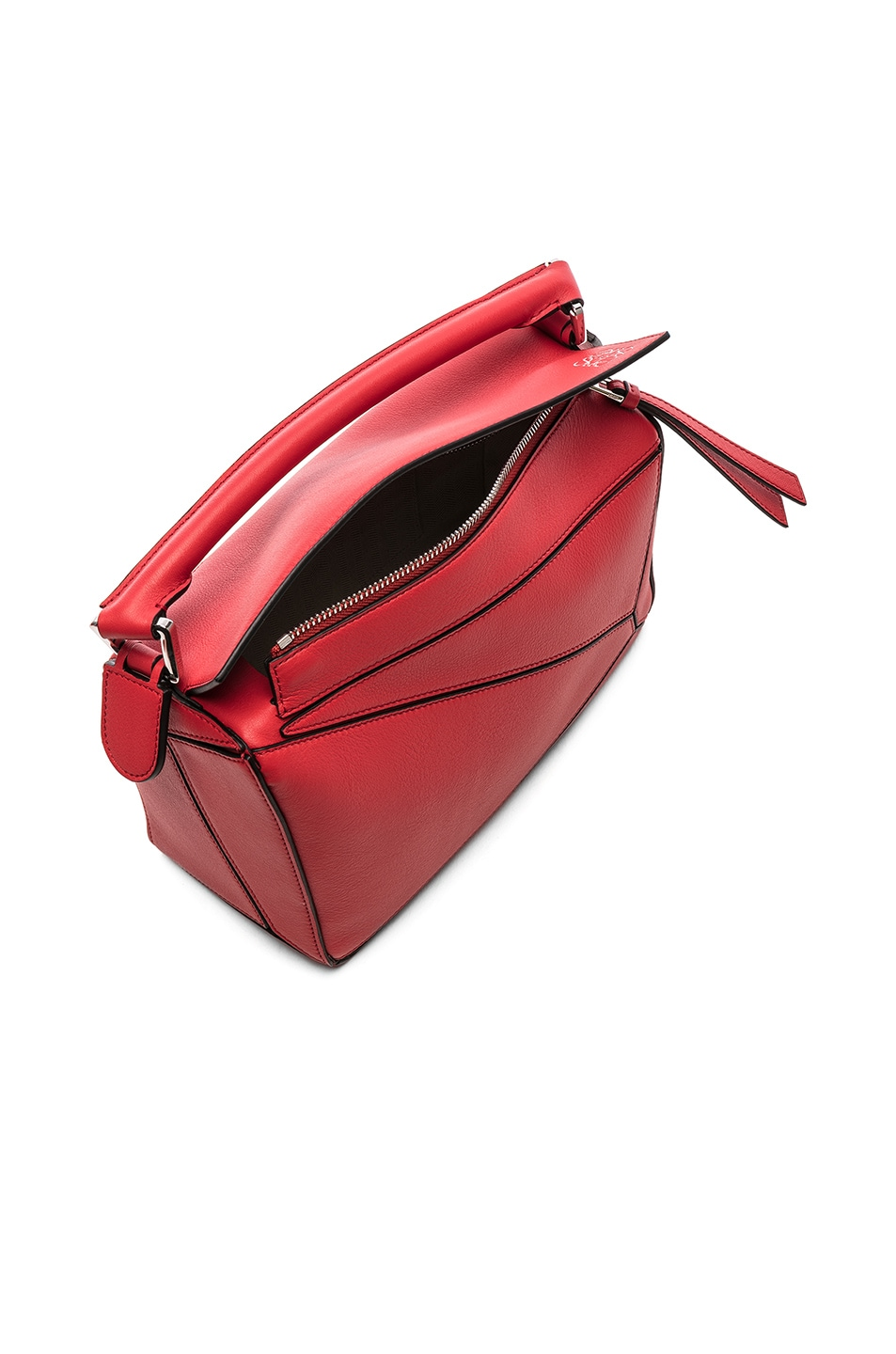 Image 5 of Loewe Puzzle Small Bag in Scarlet Red