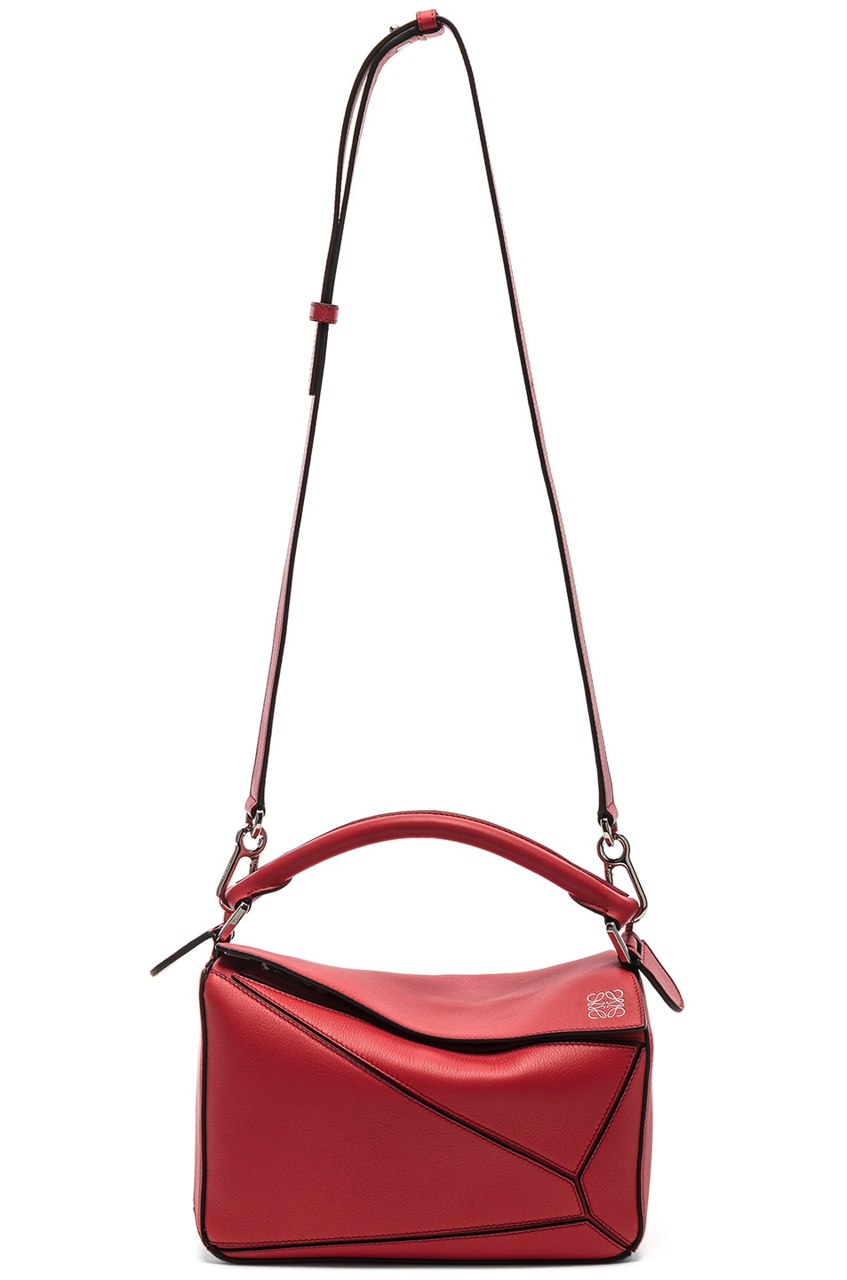 Image 6 of Loewe Puzzle Small Bag in Scarlet Red