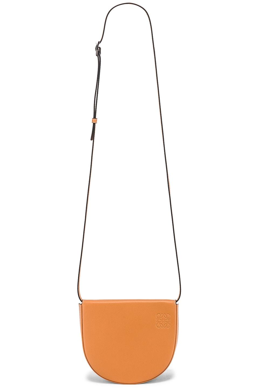 Image 6 of Loewe Heel Mini Bag in Amber