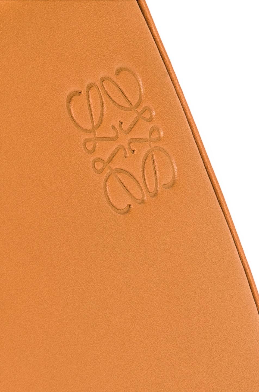 Image 8 of Loewe Heel Mini Bag in Amber