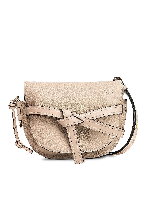 Image 1 of Loewe Gate Small Bag in Light Oak