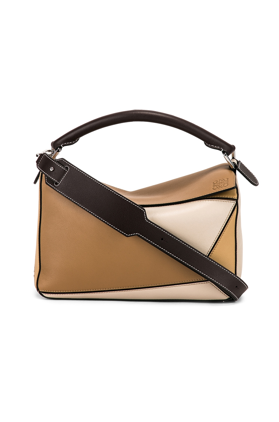 Image 1 of Loewe Puzzle Bag in Mocca Multitone