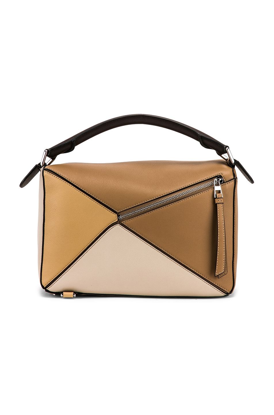 Image 3 of Loewe Puzzle Bag in Mocca Multitone