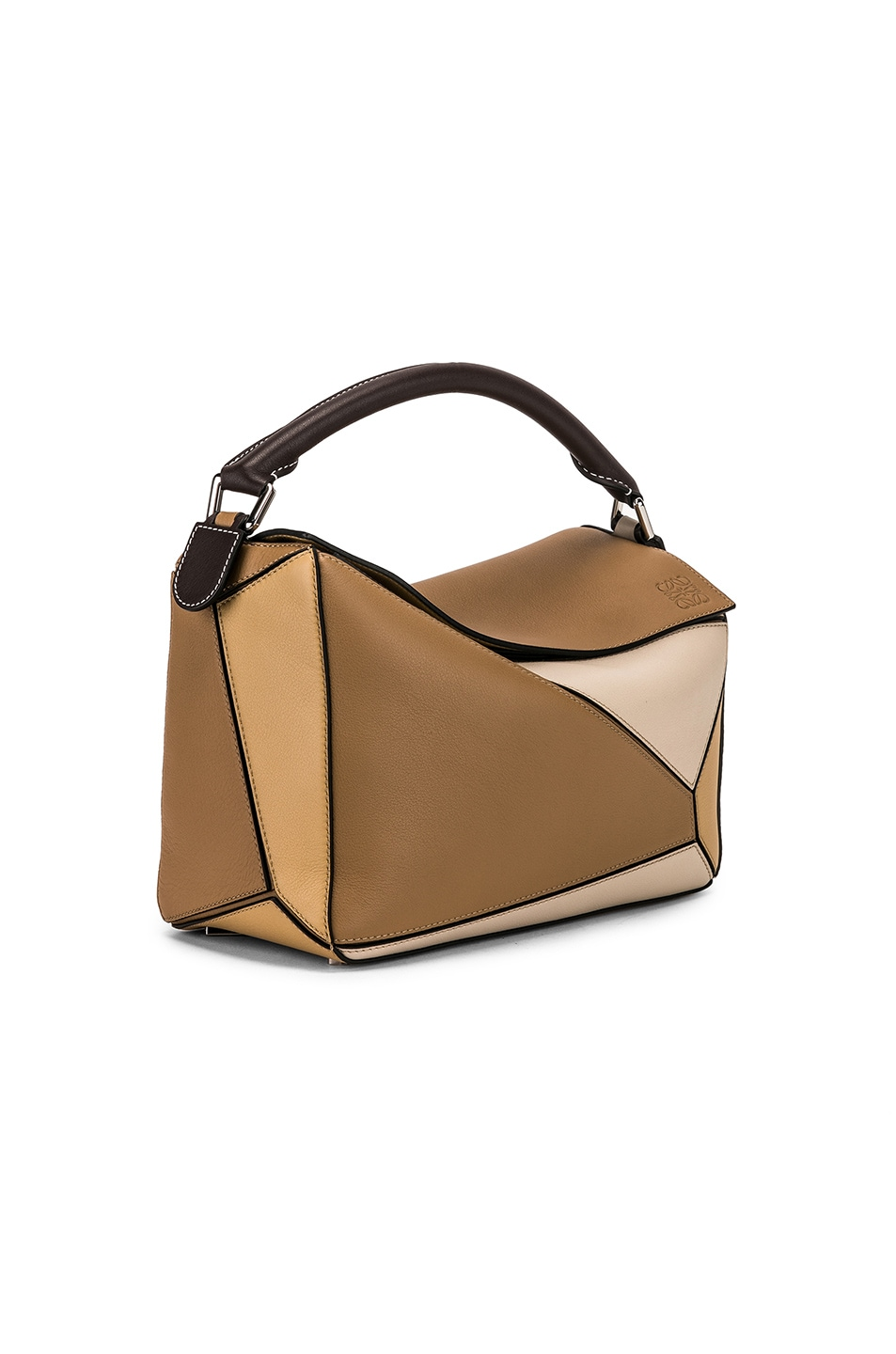 Image 4 of Loewe Puzzle Bag in Mocca Multitone