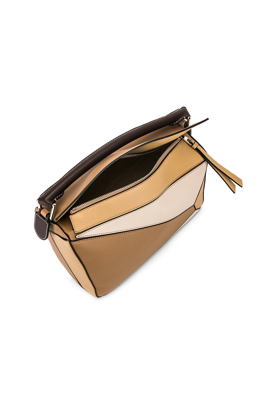 Image 5 of Loewe Puzzle Bag in Mocca Multitone
