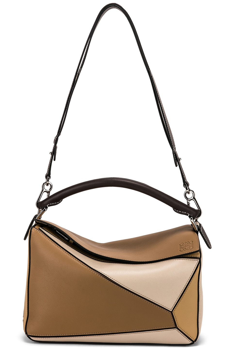 Image 6 of Loewe Puzzle Bag in Mocca Multitone