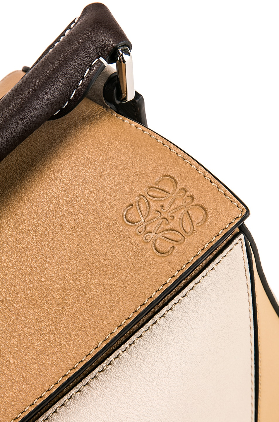 Image 8 of Loewe Puzzle Bag in Mocca Multitone
