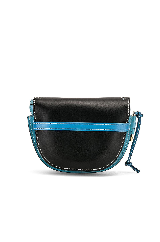 Image 3 of Loewe Gate Small Bag in Black & Light Blue