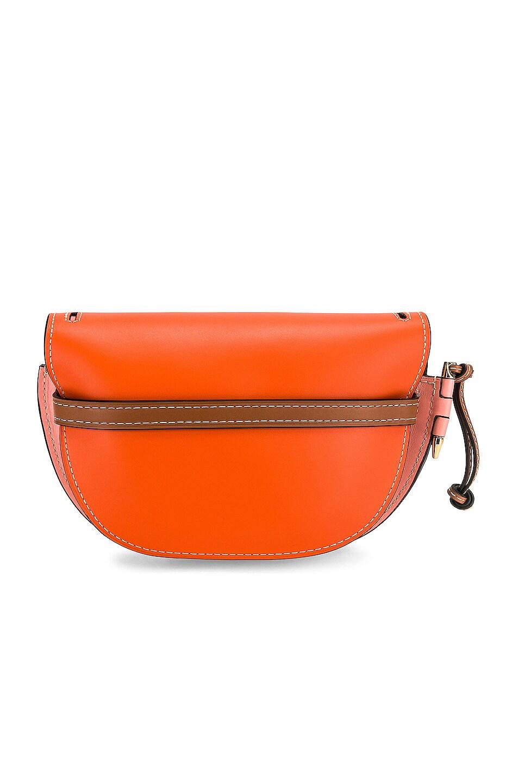 Image 3 of Loewe Gate Small Bag in Orange & Blossom