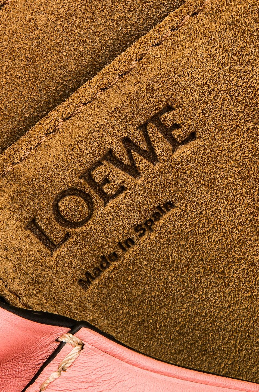 Image 7 of Loewe Gate Small Bag in Orange & Blossom