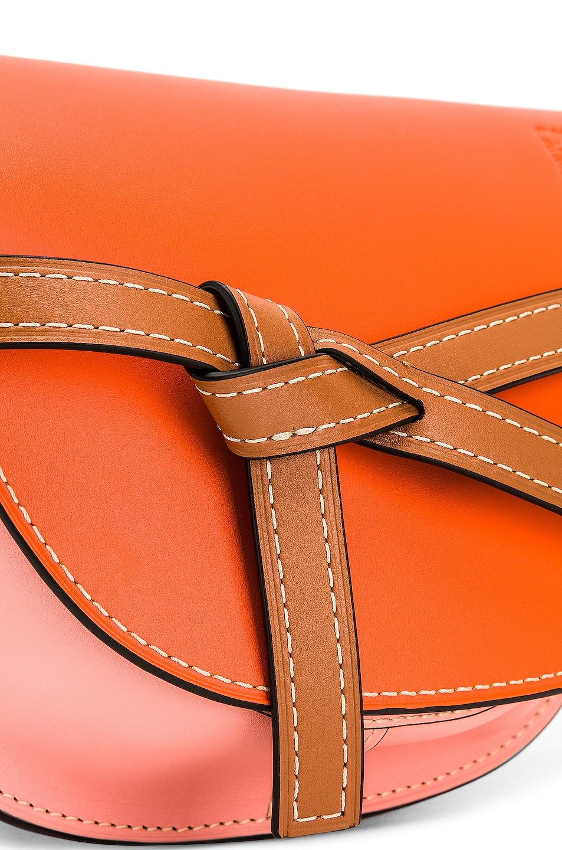 Image 8 of Loewe Gate Small Bag in Orange & Blossom