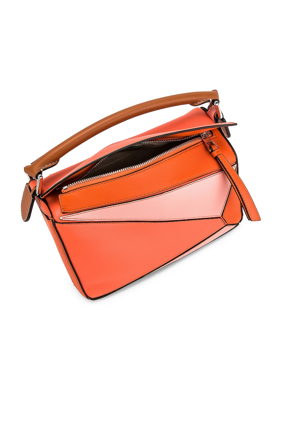 Image 5 of Loewe Puzzle Small Bag in Blossom & Bright Peach