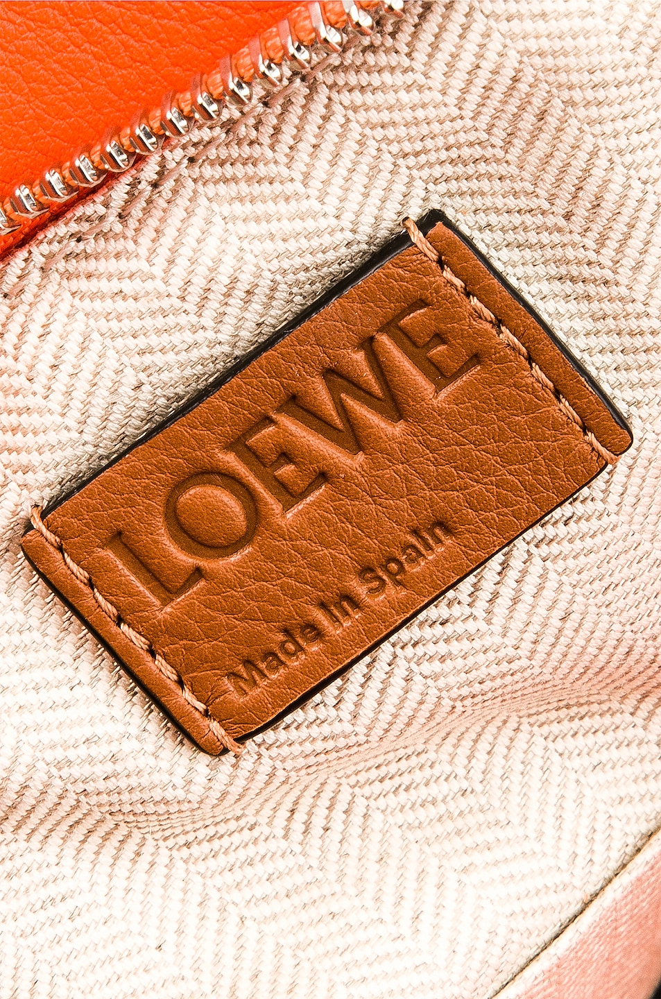 Image 7 of Loewe Puzzle Small Bag in Blossom & Bright Peach