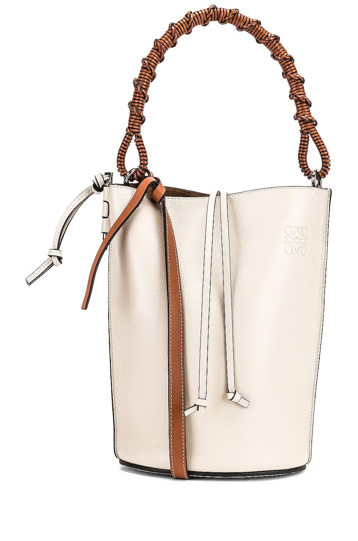 Image 1 of Loewe Gate Bucket Bag in Soft White