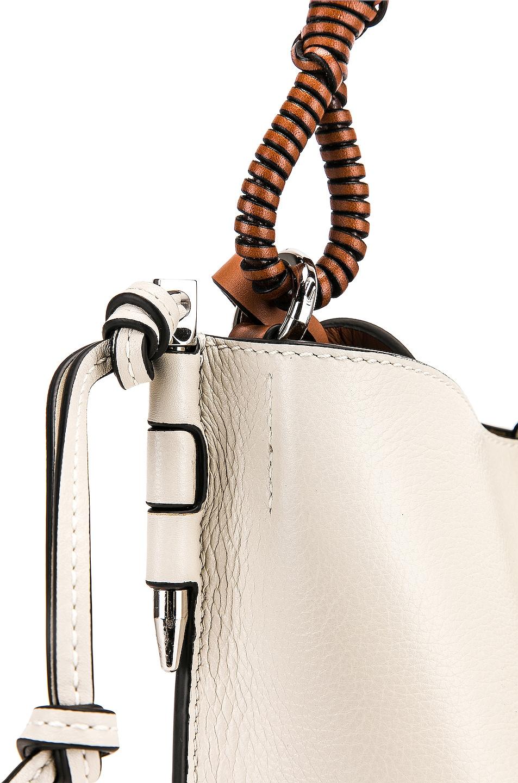Image 8 of Loewe Gate Bucket Bag in Soft White
