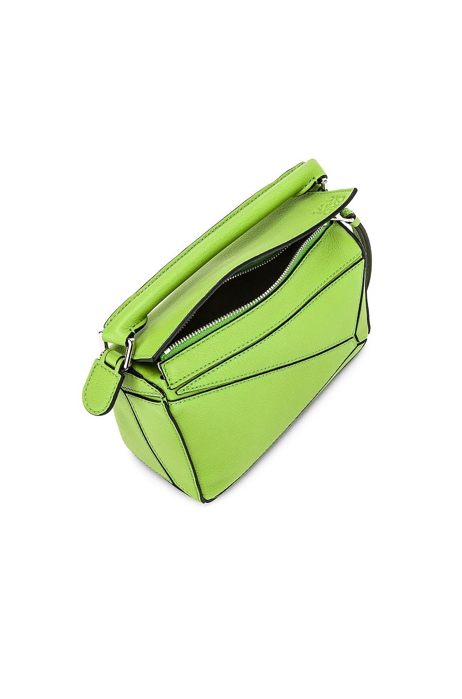 Image 5 of Loewe Puzzle Mini Bag in Green