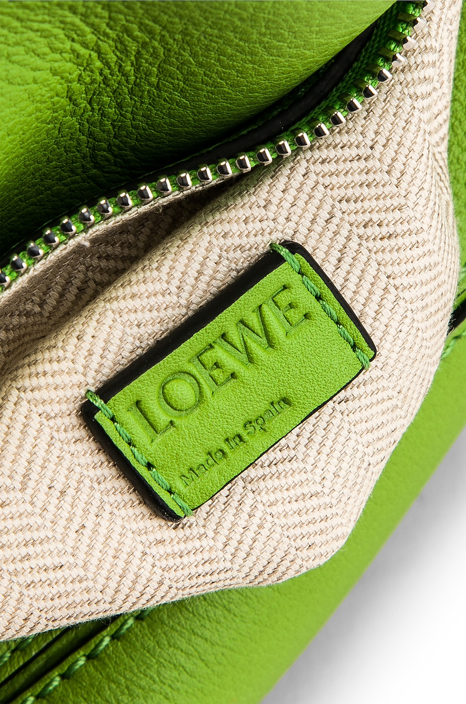 Image 7 of Loewe Puzzle Mini Bag in Green