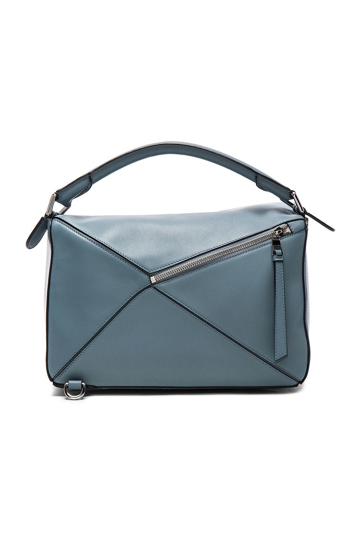 Image 3 of Loewe Puzzle Bag in Stone Blue
