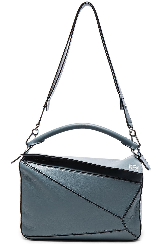 Image 6 of Loewe Puzzle Bag in Stone Blue