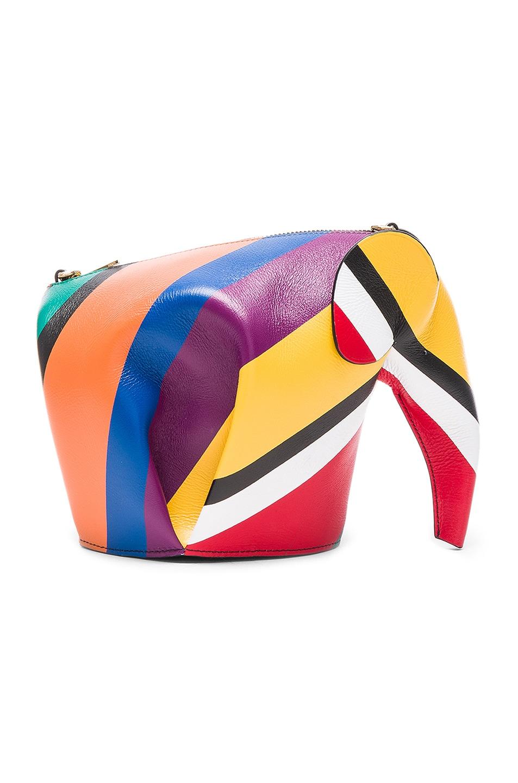 Image 1 of Loewe Elephant Mini Bag in Multicolor