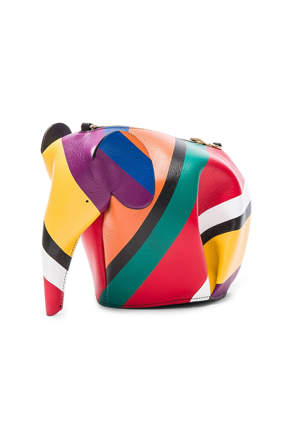 Image 4 of Loewe Elephant Mini Bag in Multicolor