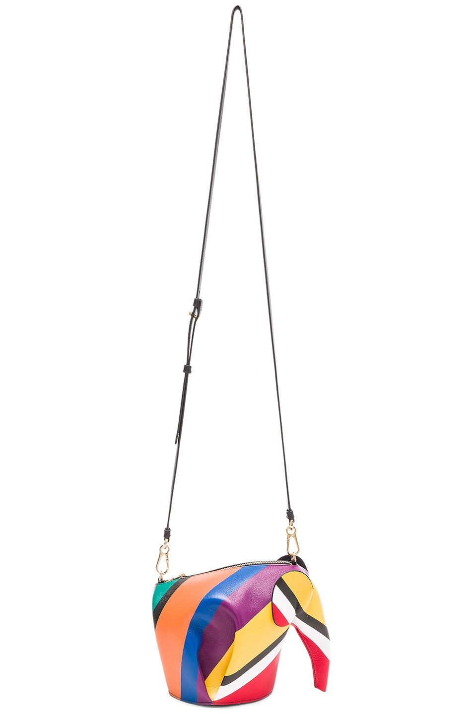 Image 6 of Loewe Elephant Mini Bag in Multicolor