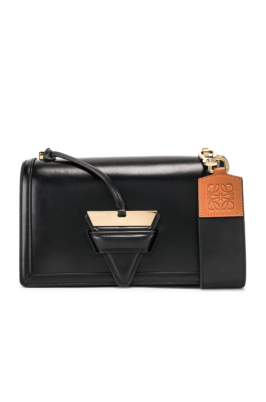 Image 1 of Loewe Barcelona Bag in Black