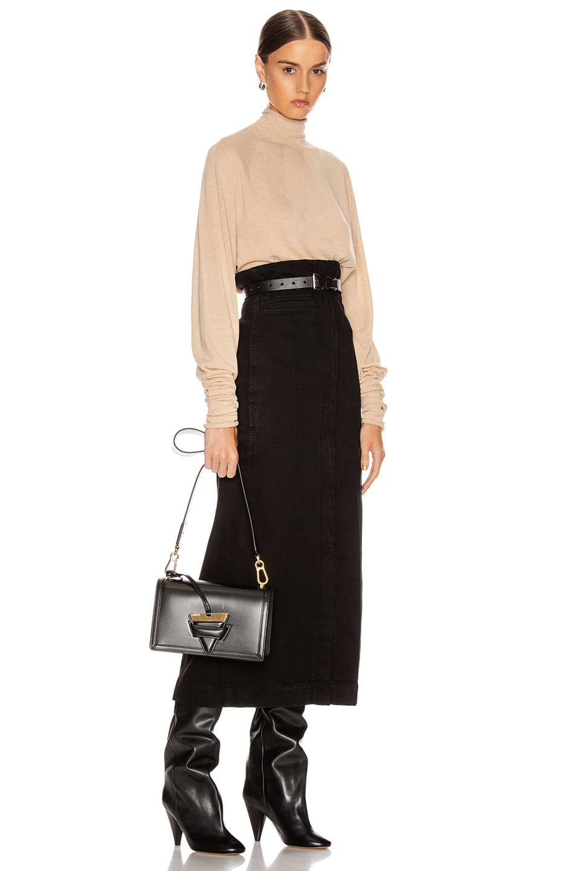 Image 2 of Loewe Barcelona Bag in Black