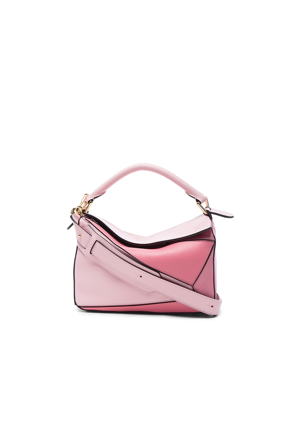 5450eb266afd9 Image 1 of Loewe Puzzle Small Bag in Soft Pink