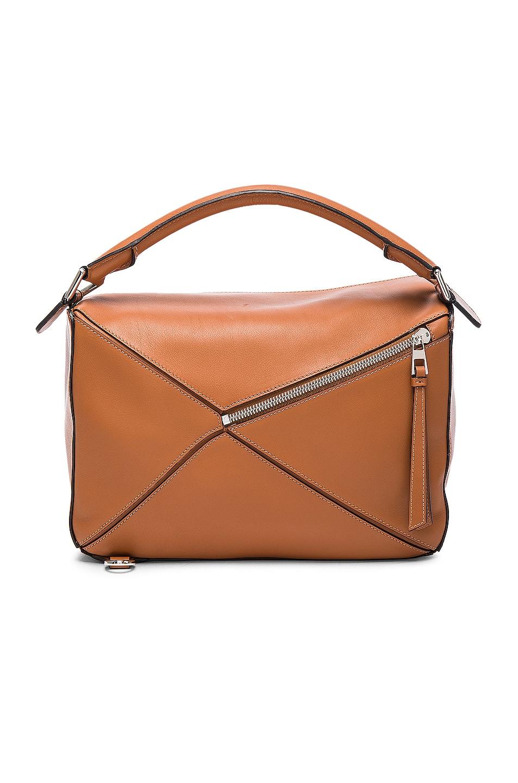 Image 3 of Loewe Puzzle Bag in Tan
