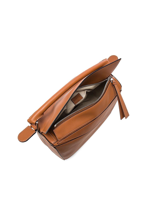 Image 5 of Loewe Puzzle Bag in Tan