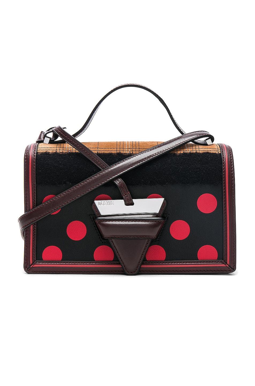 Image 1 of Loewe Dots Barcelona Bag in Beige Multi, Black & Red