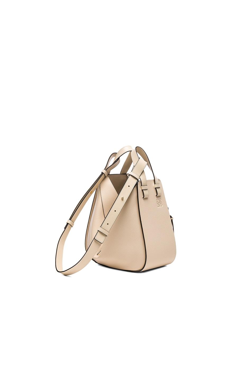 Image 3 of Loewe Small Hammock Bag in Ivory