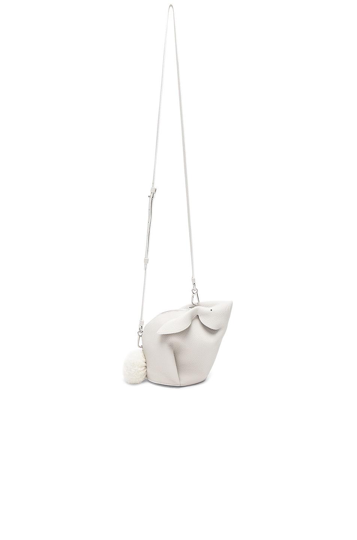 Image 6 of Loewe Mini Bunny Bag in White