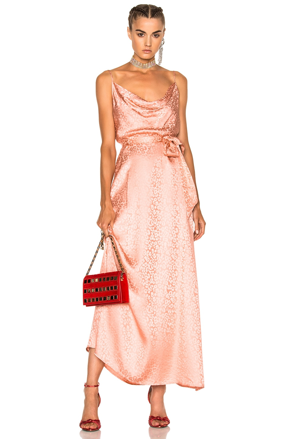Image 1 of LPA Dress 168 in Blush Rose