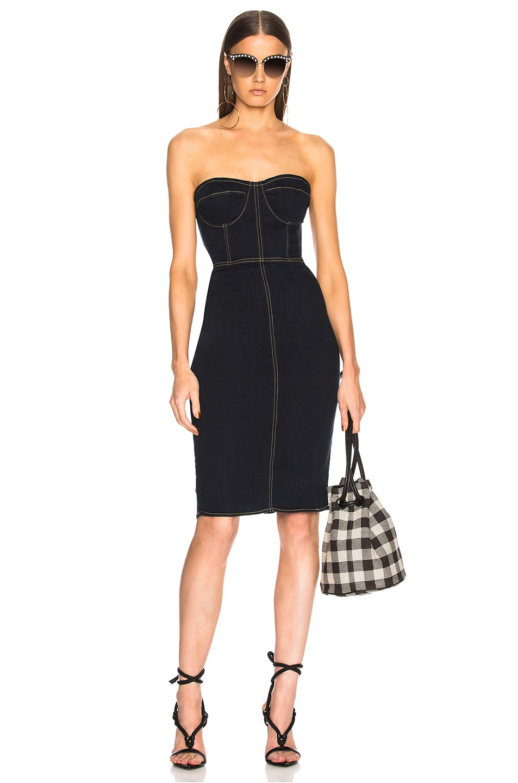 Image 1 of LPA Dress 499 in Dark Denim