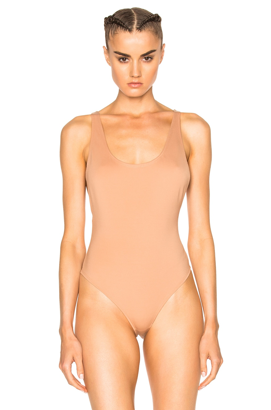 Image 2 of LPA Bodysuit 23 in Nude