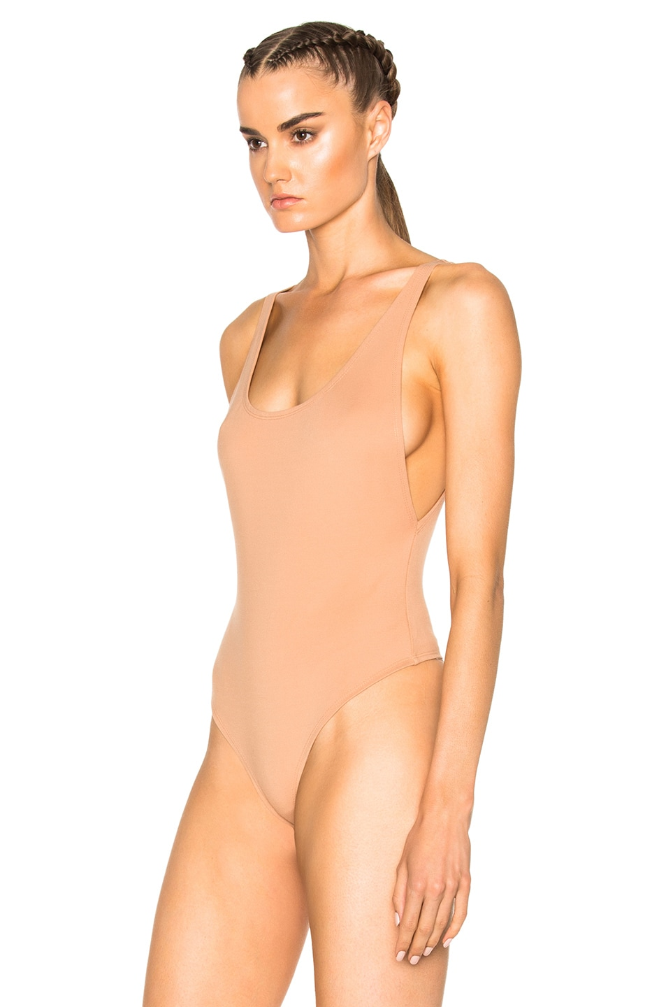 Image 3 of LPA Bodysuit 23 in Nude