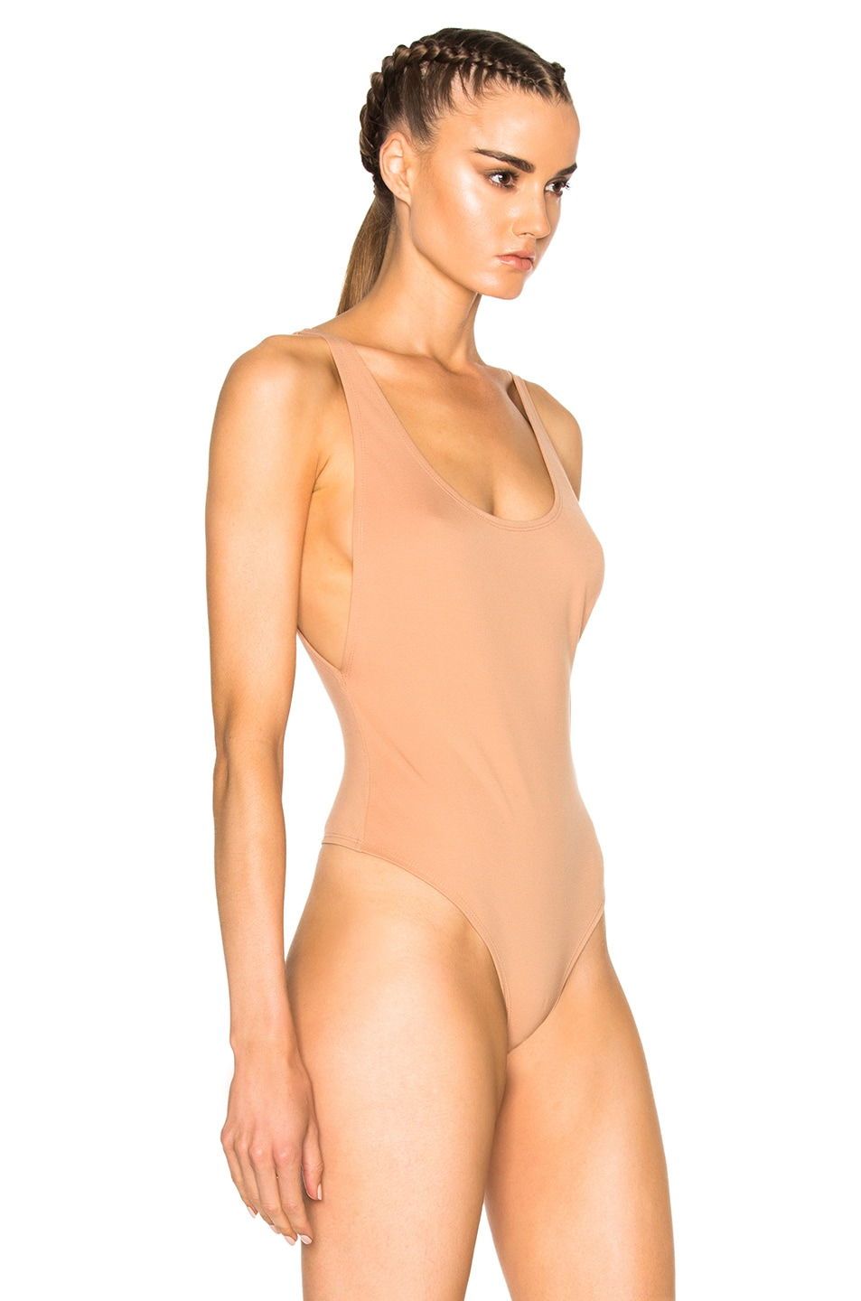 Image 4 of LPA Bodysuit 23 in Nude