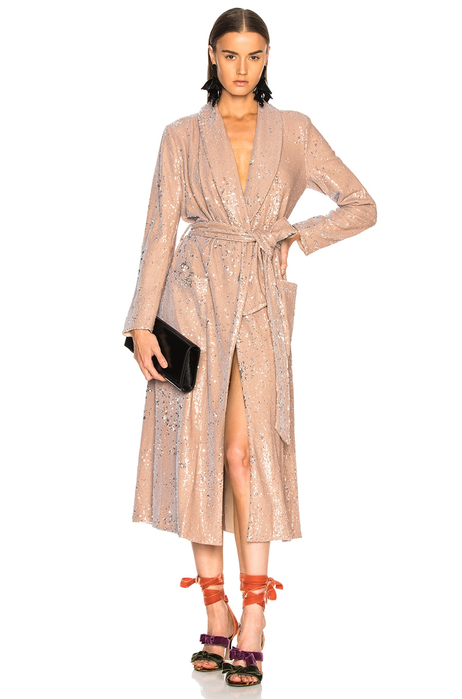 Image 1 of LPA Coat 463 in Nude