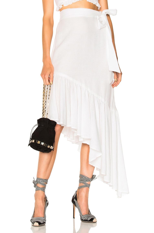 Image 1 of LPA for FWRD Skirt 534 in Ivory