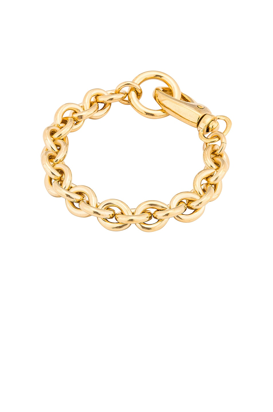 Image 1 of LAURA LOMBARDI Cable Bracelet in Gold