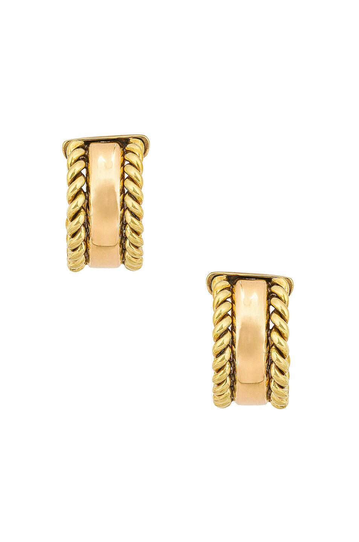 Image 1 of LAURA LOMBARDI Doppia Earrings in Gold